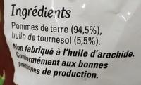 Just au Four FriStyle - Ingrédients - fr