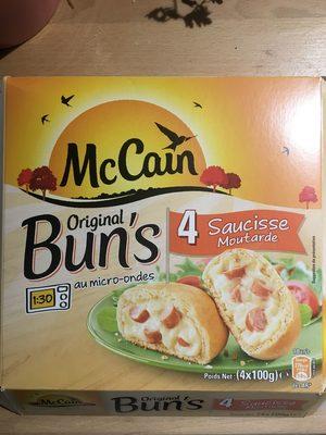 Bun's Saucisse Moutarde - Produit