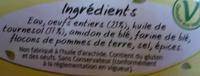 La Dauphine - Ingrédients - fr