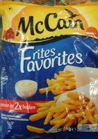 Frites favorites - Produit