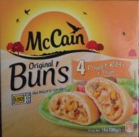 Original Bun's - Poulet rôti & thym - Product - fr