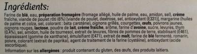 Original Bun's - Poulet rôti & thym - Ingredients - fr