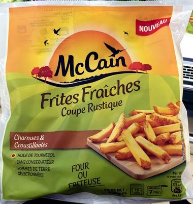 Frites Fraîches Coupe Rustique - Produit