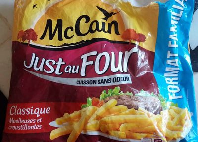 McCain just au four - Produit