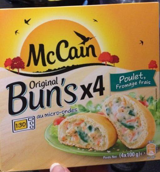 4 Bun's Poulet Fromage Frais - Produit