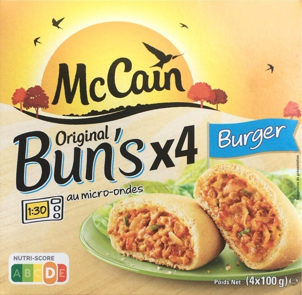 Original Bun's Burger - Produit - fr