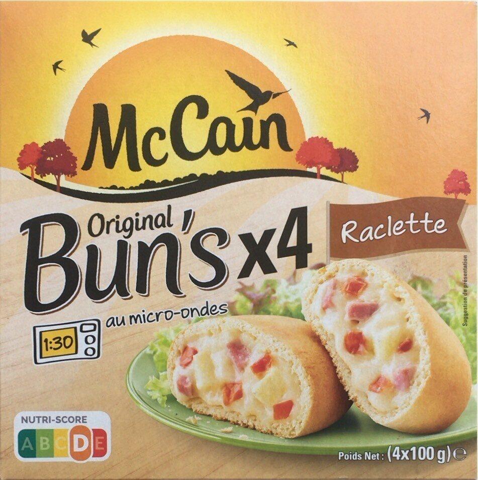 Original Bun's Raclette - Product - fr