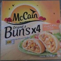4 Original bun's poulet roti et thym - Product - fr