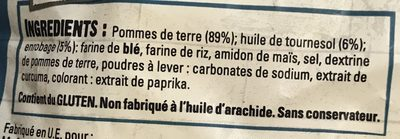 Côté Brasserie - Ingredients - fr