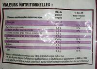 Just au Four allumettes - Nutrition facts - fr
