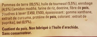 Just au Four Classique - Ingrédients - fr