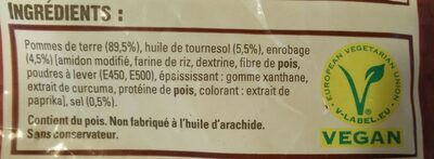 Frite Four - Ingredients - fr