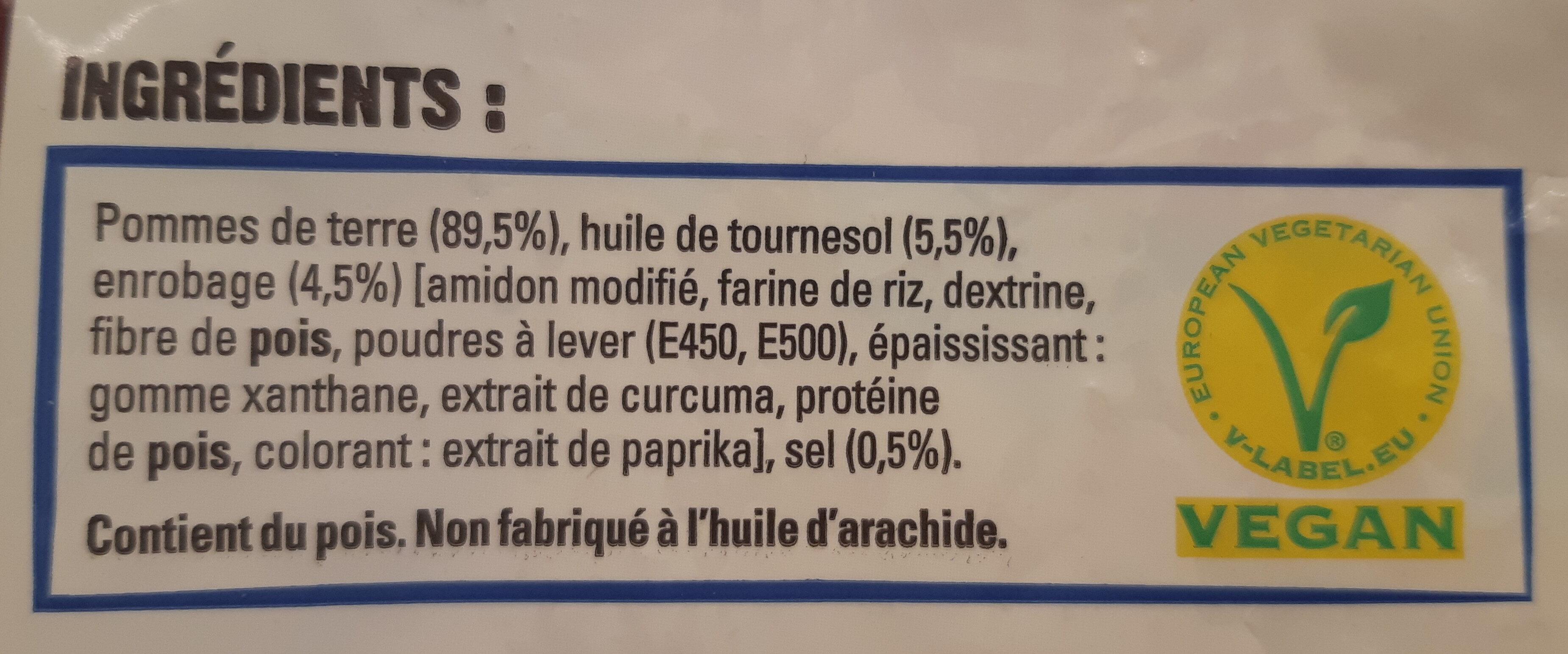 Just au four Classique - Ingredients - fr