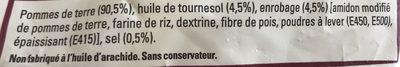 Just au Four Classique - Ingredients