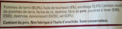 Just au Four Express, Coupe Fine et Croustillante - Ingredients - fr