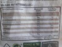 Country Potatoes - Valori nutrizionali - fr