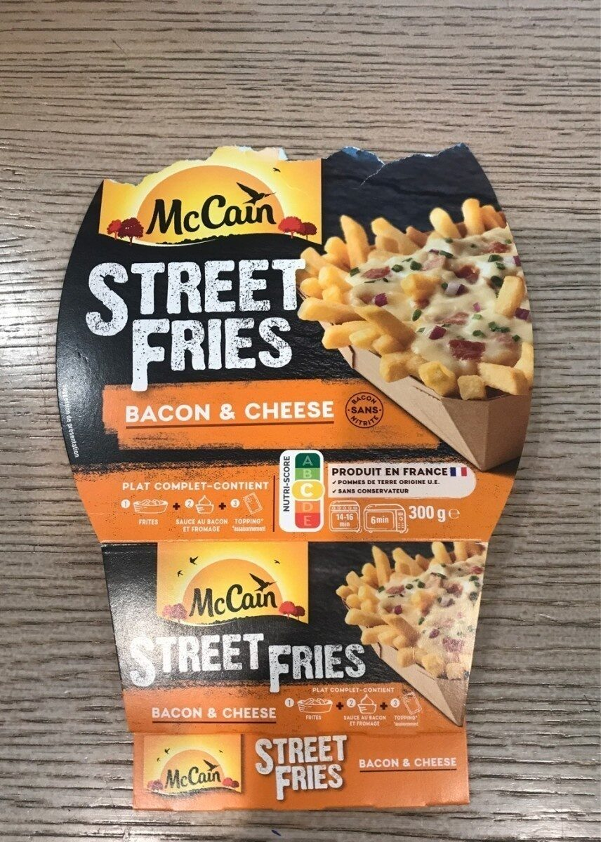 Frites bacon et cheese - Product - fr