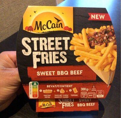 Street fries sweet bbq beef - Produit - fr