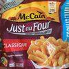 Frites Classiques Just au Four - Product