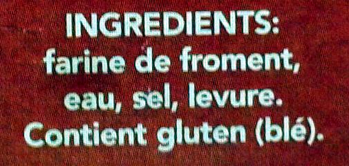Chapelure - Ingrédients