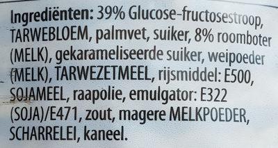 Stroop wafels - Ingrediënten - de