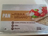 Pan fibra y sésamo - Product - en
