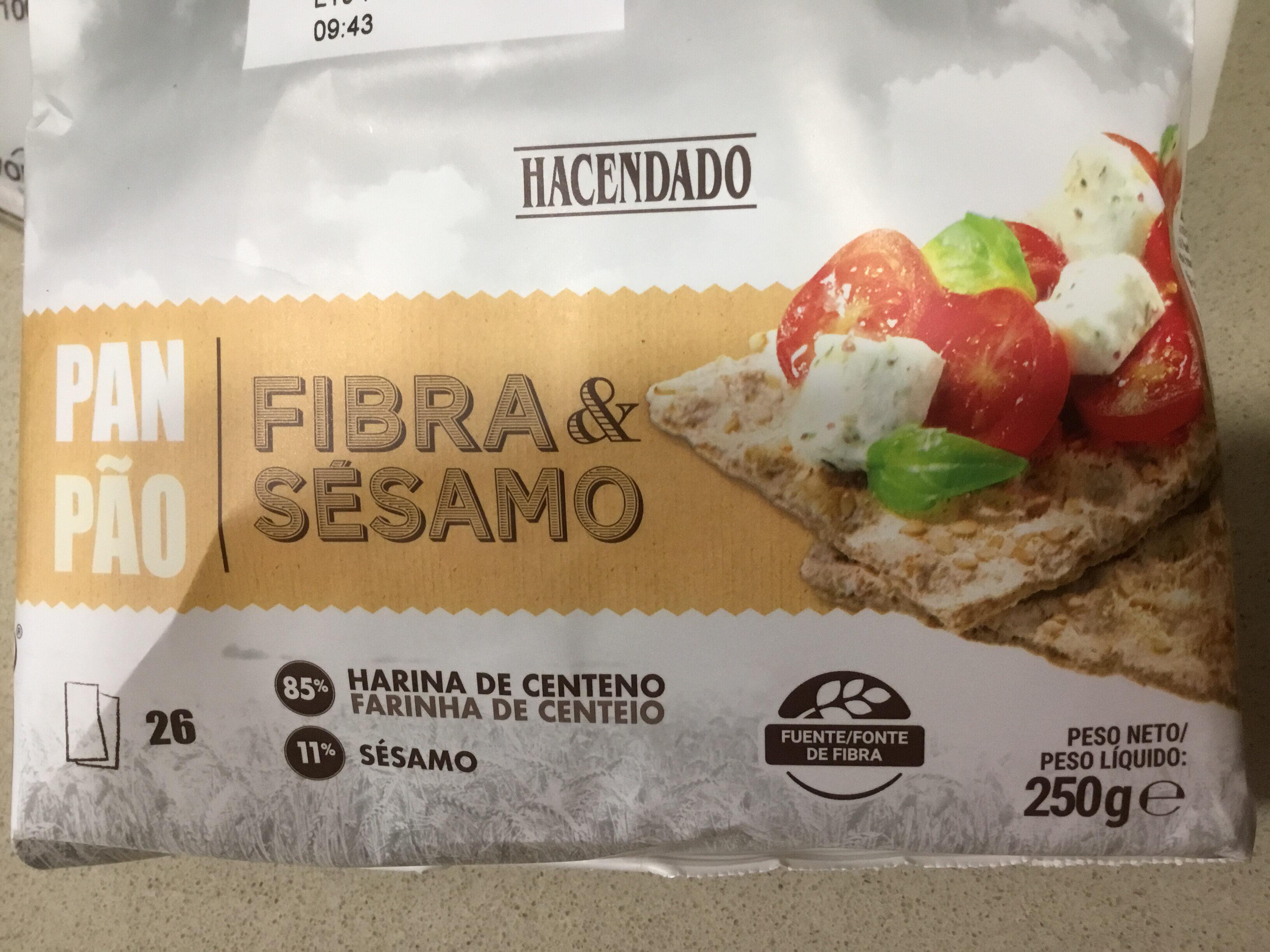 Pan fibra y sésamo - Producto - es