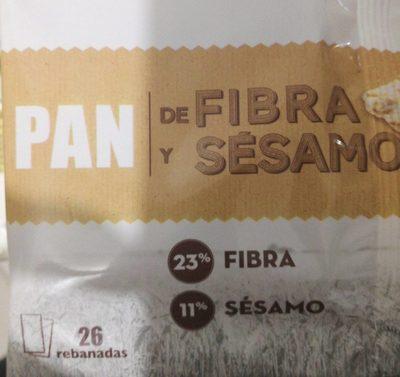 Pan fibra y sésamo - Produit - fr