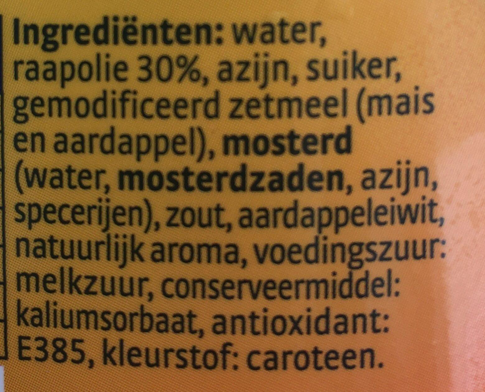 Remia Mayolijn - Ingrediënten - nl