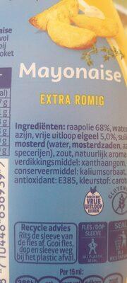 Remia mayonaise - Ingredients - en