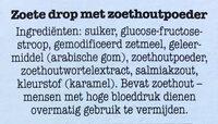 Sneker Zoethoudertjes - Ingrediënten - nl