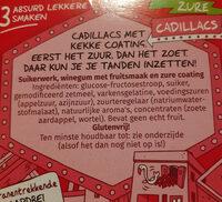 autodrop - Ingrediënten - nl