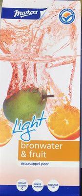Water & Fruit Sinaasappel- Peer Light - Produit