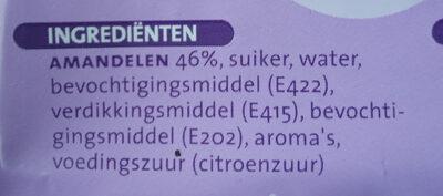 Amandelspijs - Ingredients - nl