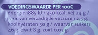 Amandelspijs - Nutrition facts - nl