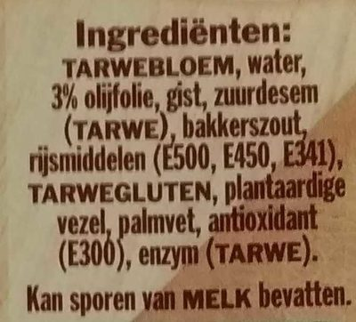 Italiaans Pizzadeeg - Ingrediënten - nl