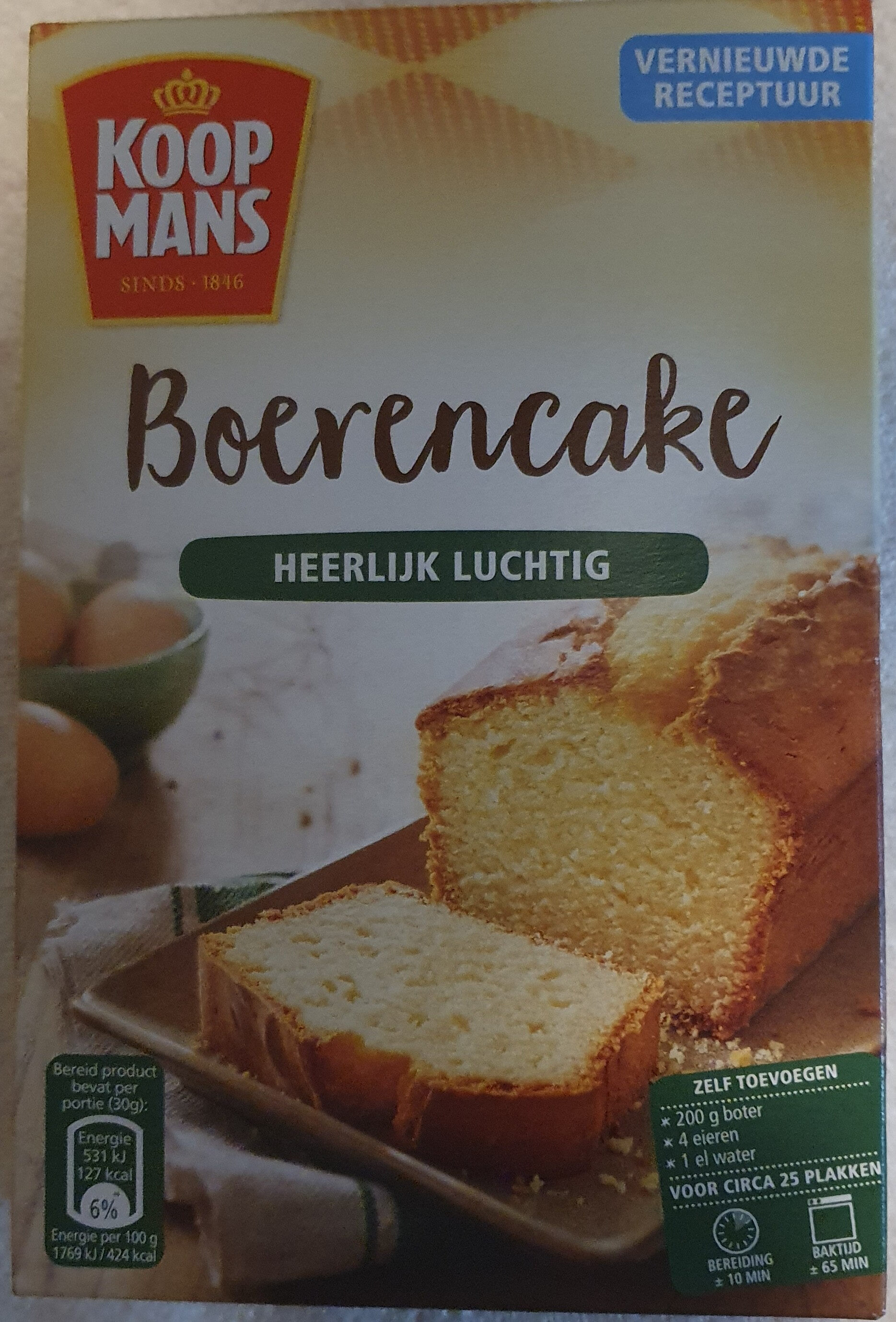 Boerencake - Product - nl