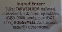 Boerencake - Ingredients - nl