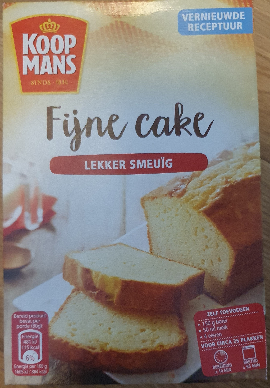 Fijne Cake - Product - nl
