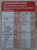 Fijne Cake - Voedingswaarden - nl