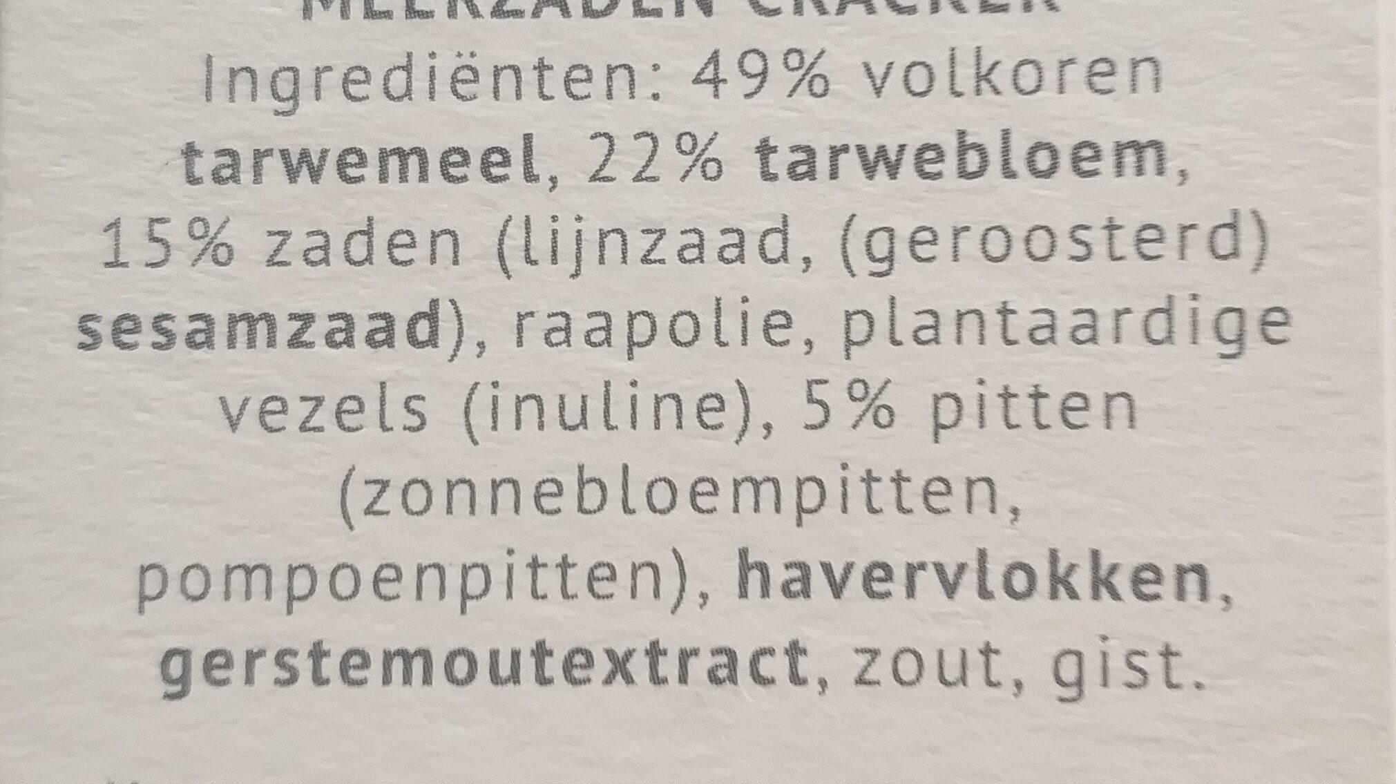 Ontbijtcrackers - Ingredienti - nl