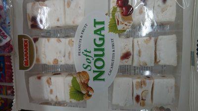 Nougat Soft (Cacahuètes et fruits) - 2