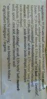 Biologische kruiden zuurkool - Ingredients