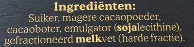 - Ingrédients