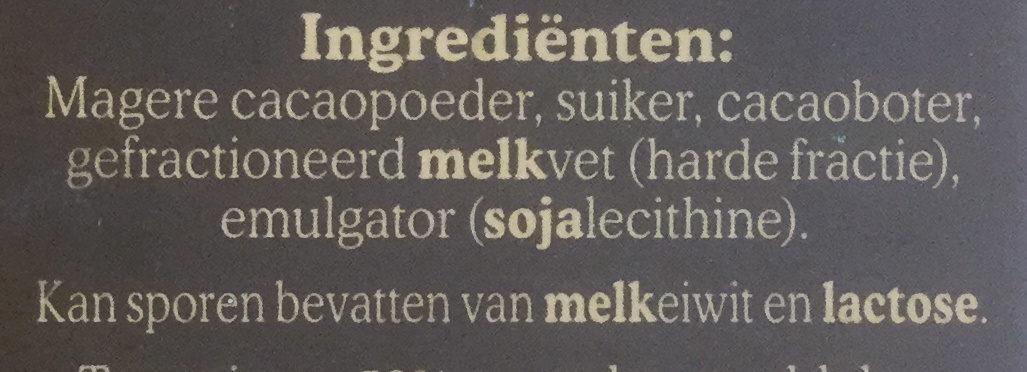 De Ruijter Specials Intens Puur 52% - Ingredients