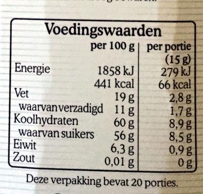 Royaal - Voedingswaarden - nl