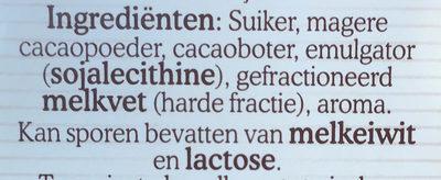 Chocoladehagel puur - Ingrediënten - nl