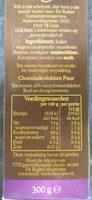 Royaal chocolade vlokken - Voedingswaarden - en