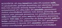 Speculaas Staaf - Ingrediënten