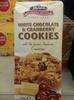 Merba Cookies White Chocolate And Cranberry - Produit